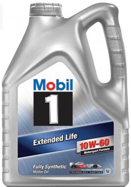 Масло моторное синтетическое Mobil 1 Extended Life 10W-60