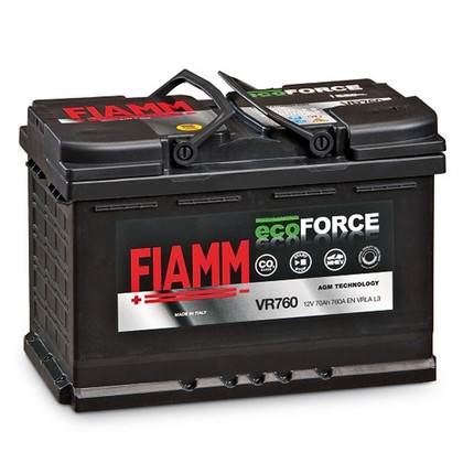 Аккумулятор FIAMM Ecoforce AGM 70 А/ч