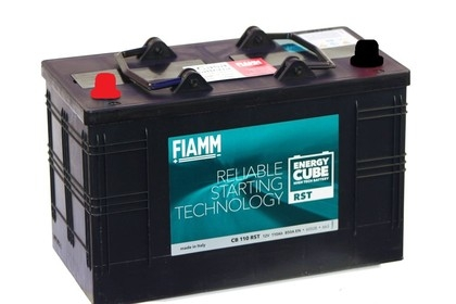 Аккумулятор FIAMM Energy CUBE Reliable Starter 110 А/ч прям.пол.